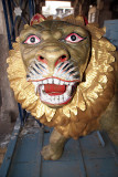 Model of Lion at Chennakesava Temple Belur