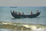 Fishermen off Black Beach Varkala 02