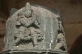 Carved Figures on Post Belur