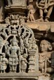 Carved Figures on Chennakesava Temple Belur