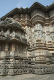 Carved Exterior Chennakesava Temple Belur