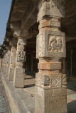 Carved Stone Pillars Belur