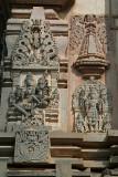Carved Stone Panels of Gods Belur