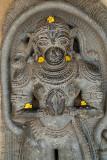 Carving of Hanuman Chennakesava Temple Belur