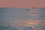 Fishing at Sunset Varkala