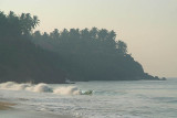 Waves and Palms from Black Beach Varkala.jpg