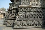 Decorated Exterior Chennakesava Temple Belur