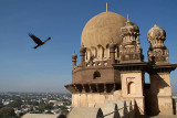 Gol Gumbaz Roof and Kite