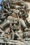 Carving of Vahara Vishnus Boar Incarnation