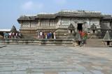 Chennakesava Temple Belur from Courtyard