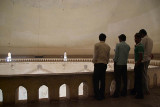Group of Men on the Whispering Gallery Gol Gumbaz