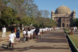 School Children Visiting Gol Gumbaz