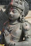 Statue of Garuda Courtyard of Chennakesava Temple Belur 02