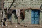 Clothes Drying Outside House Bijapur