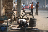 Mending Bicycles Bijapur