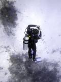 Diver Checking His Air