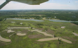 Those funny little ponds are part of the Bald Eagle habitat