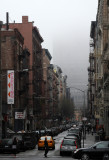 Foggy Morning - Downtown View