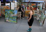 Artist Sonia Grineva Gallery at the Washington Square Art Show