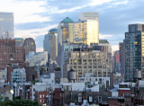 Afternoon Showers - Downtown Manhattan