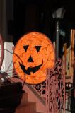 Halloween Pumpkin - Mexican/Spanish Restaurant Entrance
