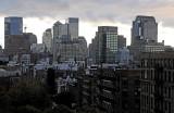 After Rain near Sundown - Downtown Manhattan