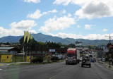 Road from San Jose to Cartago