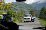 Road from Cartago to Orosi Valley