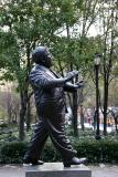 Mayor Fiorello LaGuardia Statue