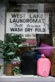 West Lake Laundromat above Prince Street