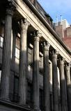 Colonnade Row below Astor Place
