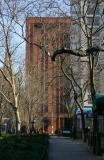 Garden, NYU Library & Residence