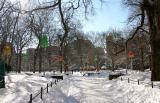 Northwest Corner - Walkway  to NYU Library & Student Center
