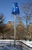 Lamp Shade at LaGuardia Place Entrance