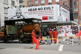 Street Workers & Aids Awareness Billboard