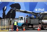 Con Edison Workers & iPod Billboard