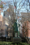 Sheridan Square Park - General Sheridan Sculpture
