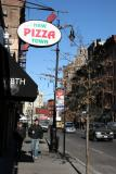 West View of West 8th Street - New Pizza Town