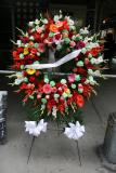 Memorial Wreath for the 95th Anniversary of the Shirtwaist Fire Tragedy
