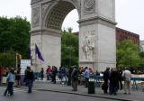 NYU Commencement at the Arch