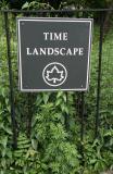 NYC Parks Marker - Time Landscape Garden