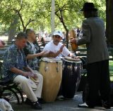 Musicians, Singers & Dancers in Washington Square Park