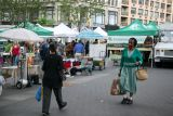 Farmers Market Entrance at Union Sq West