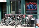 Dallas BBQ Delivery Bicycles