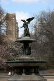 Bethesda Fountain with Western Horizon