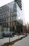 Jean Nouvel's Residential Building Courtyard with Reflections