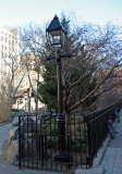 Park Entrance at Mulberry and Mosco Streets