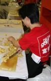 Chopping Ginger at Chatham Square