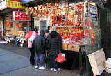 Shopping for Chinese New Year Decorations near Grand Street