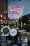 National Cash Register Scales Window